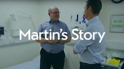 Play video: Martin's Story - Nuffield Health