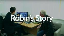 Play video: Robin's Story - Nuffield Health