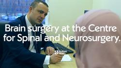 Play video: Brain surgery at Nuffield Health Leeds Hospital