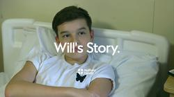 Play video: Will's Story - Sports knee injury - Paediatrics