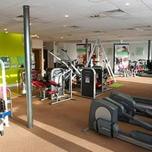 Leatherhead gym personal training area