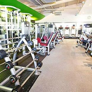 Worcester Fitness and Wellbeing gym floor