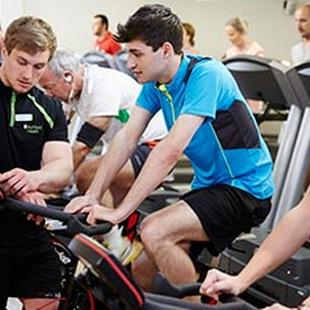 Gym members in Doncaster (spin class)
