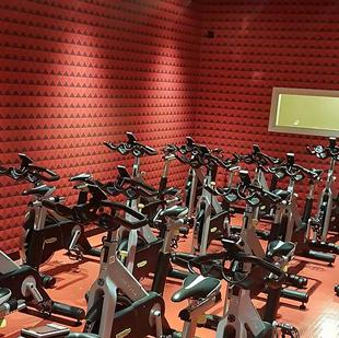 Wokingham Fitness and Wellbeing Centre Spinning studio