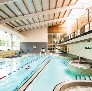 Cambridge Fitness & Wellbeing Gym Swimming pool