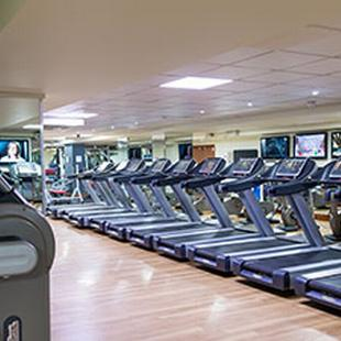 Enfield gym floor cardio machines