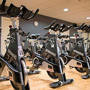 Telford gym cycle studio