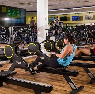 Skillrow Rowing machines at our Wolverhampton gym