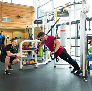 Stoke Nuffield Health Gym Floor 2