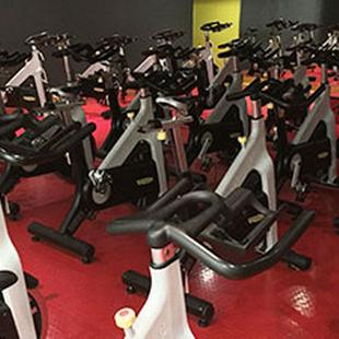 Dedicated spin studio