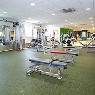 Bromley gym weights area