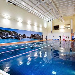 Nuffield Health Rugby Fitness and Wellbeing Gym Swimming Pool