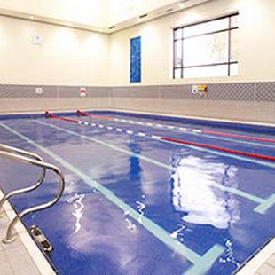 Worcester Fitness and Wellbeing gym floor swimming pool