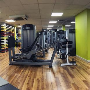 Twickenham Fitness and Wellbeing gym floor