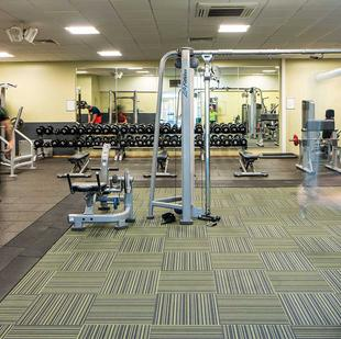 Shipley fitness and wellbeing gym floor