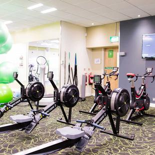 Stoke Poges Fitness and Wellbeing gym floor