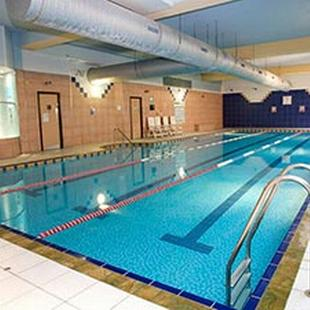 Swimming pool at Hull gym