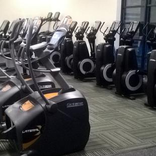 Cardio machines at Swindon gym