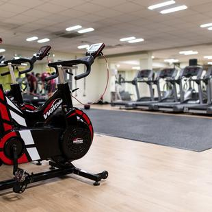 Wattbikes on Battersea gym floor