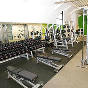 Weights area at our Cheam gym