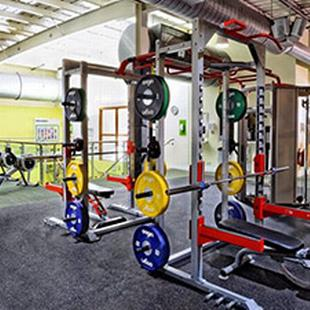 Weights at our Yeovil Fitness & Wellbeing Gym