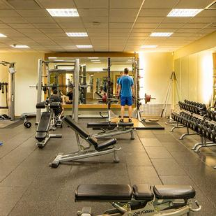 Liverpool fitness and wellbeing gym floor