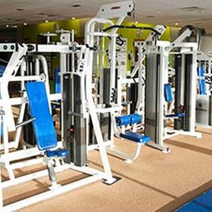 Leatherhead gym weights area