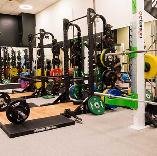 Moorgate fitness and wellbeing gym floor
