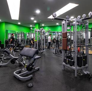 Manchester Printworks fitness and wellbeing gym floor