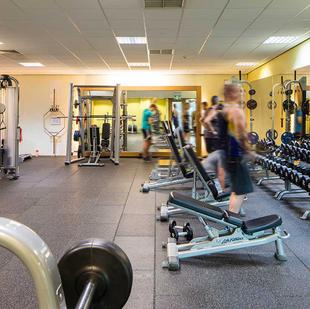 Wakefield fitness and wellbeing centre gym floor