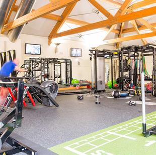 Chigwell fitness and wellbeing gym floor