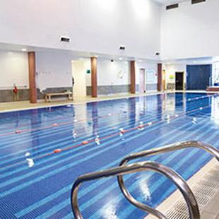 Cheam gym swimming pool