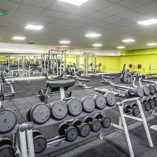 Bolton fitness and wellbeing gym floor