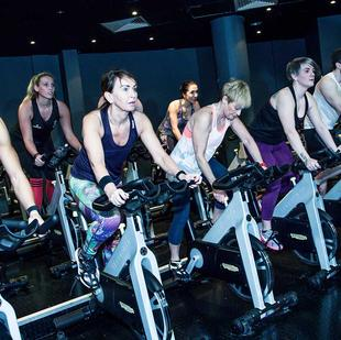 Bolton fitness and wellbeing spin class