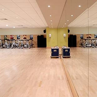 Hertford gym studio floor