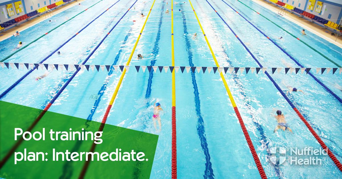 Intermediate swimming training plan | Nuffield Health