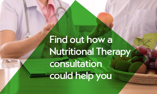 Nutritional therapy consultation