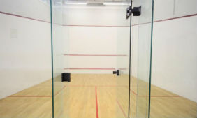 Squash courts at Royal Masonic Gym