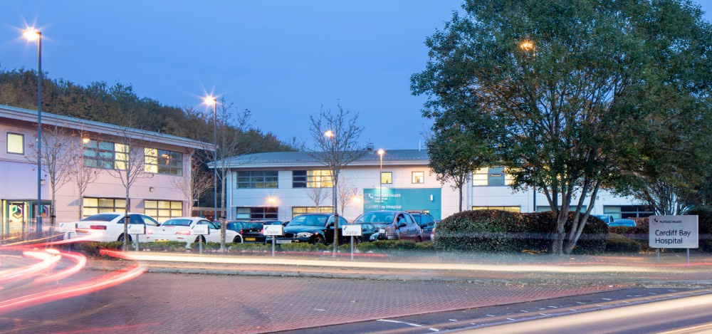Nuffield Health Cardiff Bay Hospital in South Wales