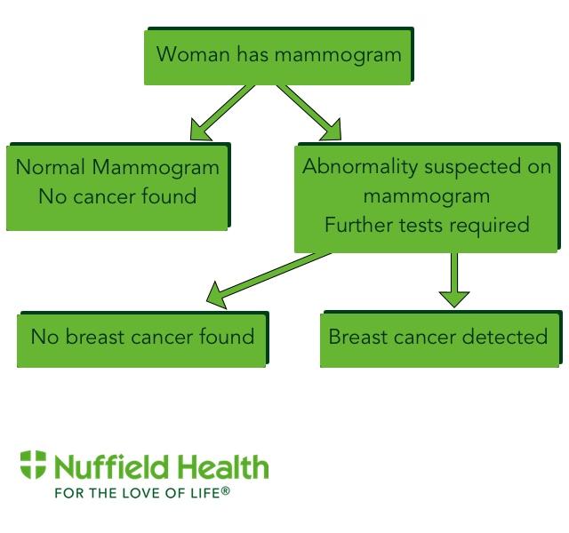 Mammogram Flow Chart