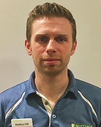 Matthew Piff, Physiotherapy lead in Cheltenham