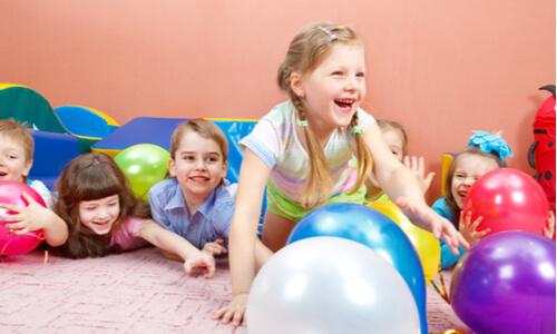 Physical activity at Nuffy Bear Day Nursery