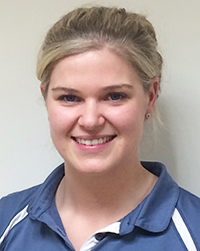 Francesca Carpenter, physiotherapist in Cheltenham