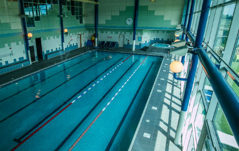 Swimming pool at Nuffield Health Newbury Fitness & Wellbeing Gym
