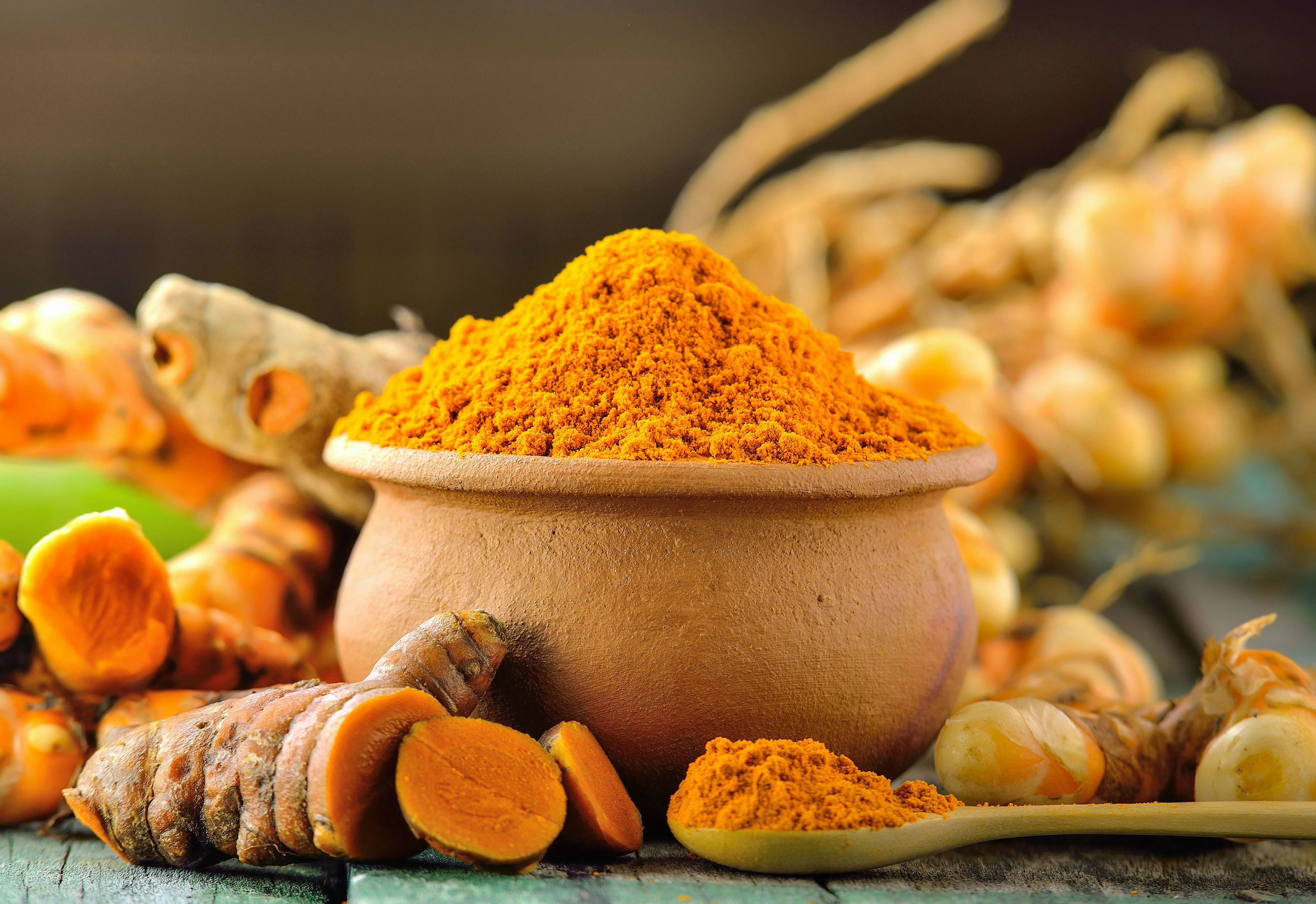 Bowl of Turmeric