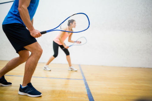 Squash courts at Nuffield Health Newbury gym