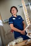 Specialist spinal nurse Rachel at Nuffield Health Leeds Hospital