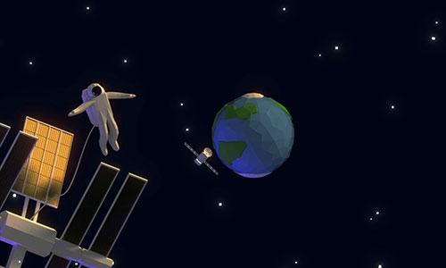 Spaceman radiation