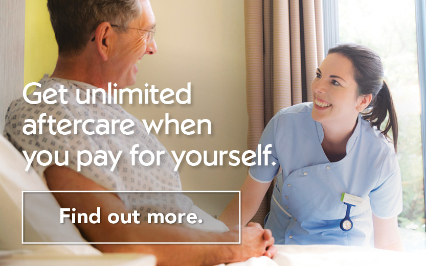 Paying for yourself FAQ | Nuffield Health