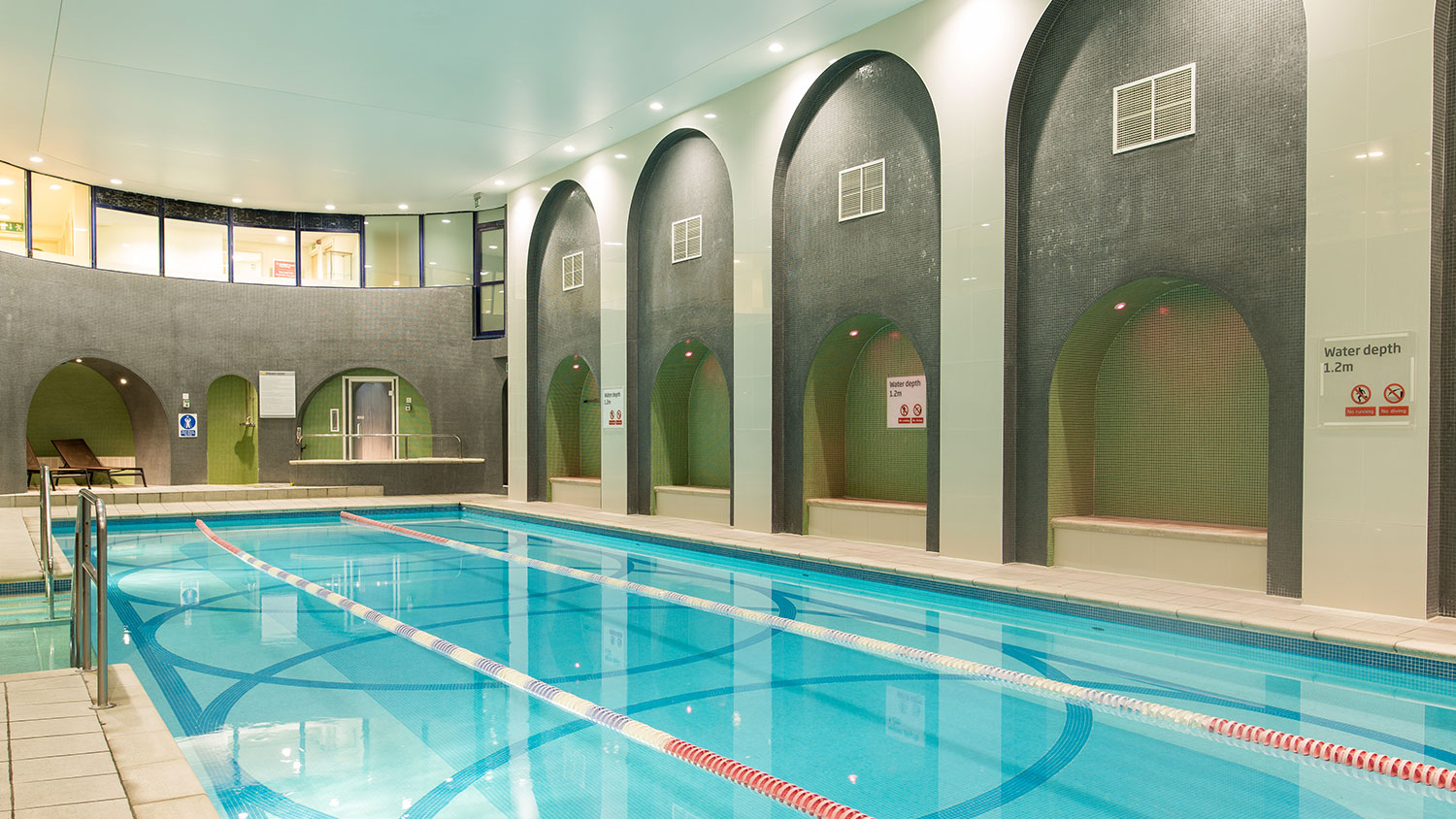 Bloomsbury gym pool